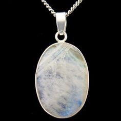 Moonstone & Silver Pendant - Oval 30mm http://www.crystalage.com/online_store/moonstone-and-silver-pendant-oval-30mm.cfm