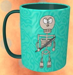 Skeleton Mug / #Tableware