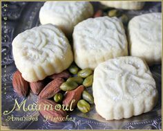 Maamoul amandes pistaches
