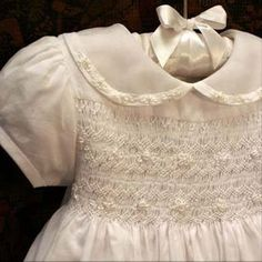 Heirloom Christening Gown by Isabel Garreton