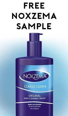 FREE Noxzema Original Cleansing Cream Sample
