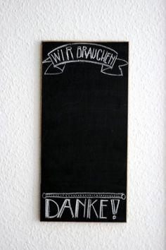 Chalkboard selber machen