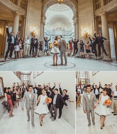 Modern and Chic San Francisco City Hall Elopement
