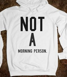 Not a moronic person hoodie
