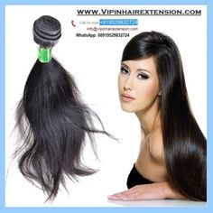 Vipin Hair Extension is genuine supplier of #Remy #Hair. It's hair 100% #virgin #human #hair. It's Indian's best supplier of hair products like weft, clip in extension etc. Hair extensions add style to your #beauty and make you more attractive.