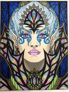 done by Janice Maybee Magical Beauties Day Enchantress