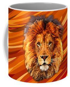 Old Lion Coffee Mug Available for @pointsalestore #mug #pattern #feather #native #animal #beast #bird #eagle #hawk #eagleeyes #hawkeyes #birdeyes #eaglehead #hawkhead #birdhead #leopard #albinoleopard #tiger #lion #hyenas #hyaenas #cat #jaguar