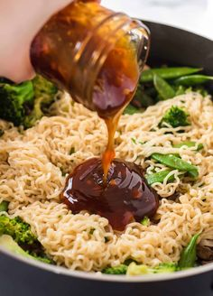 Sweet and sticky homemade teriyaki sauce is one of our go-to sauces for marinades and stir fry recipes. Homemade teriyaki tastes so much better than store bought and is made with easy ingredients! #teriyakisauce Easy Teriyaki Sauce Recipe, Homemade Bbq Sauce Recipe, Homemade Spices, Stir Fry Recipes, Sauce Recipes, Cooking Recipes, Dip Recipes, Keto Recipes, Vegan
