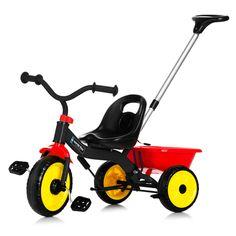 Vehicule pentru copii :: Trotinete si triciclete :: Triciclete :: Tricicleta cu maner Nordic Hoj