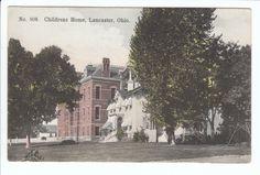 c.1910 Childrens Home Lancaster Ohio