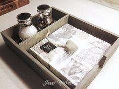 Jannes kreative verden: DIY - Serviettholder med plass for krydder......