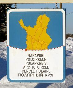Pello on läntisin kunta, jonka halki napapiiri Suomessa kulkee