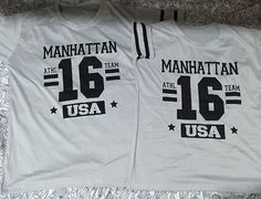 Check this new arrival  -  Jersey Manhattan USA #16 Couple Jersey Shirt Grey -  Click Here:  http://www.coupleshirt.ph/product/jersey-manhattan-usa-16-couple-jersey-shirt-grey/   #couple
