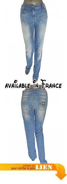 B07145KPFL : Dolce & Gabbana - Jeans - Femme bleu bleu 46.