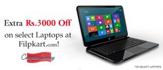 EXTRA Rs.3000 OFF on select Laptops at #Filpkart!! CLAIM NOW : http://www.couponcanny.in/flipkart-coupons/