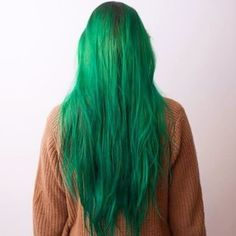 My current hair - haare - Green Hair Colors, Cool Hair Color, Cabelo Inspo, Leda Muir, Coloured Hair, Dye My Hair, Pale Skin, Grunge Hair, Crazy Hair