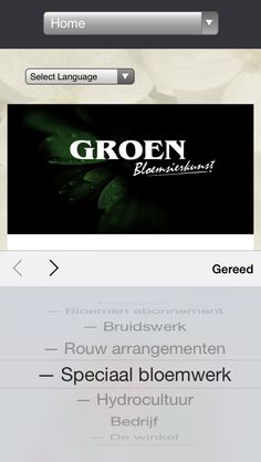 Website www.groenbloem.nl