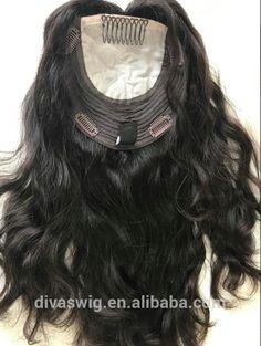Custom women Silk Base human topper Closure for thinning hair