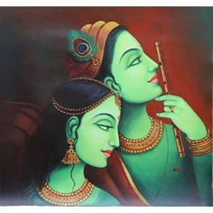 Paintings and Art Exhibition - Chitra Santhe Mysore 2015 ~ Happiest Ladies Mural Painting, Mural Art, Painting & Drawing, Dream Painting, Murals, Indian Art Paintings, Modern Art Paintings, Acrylic Paintings, Krishna Art