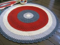 I have always liked braided rugs. Maybe a crocheted rug needs to be my next project.
