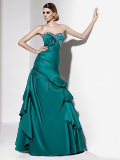 Fanscinating Sheath/Column Sweetheart Floor Length Prom Dress