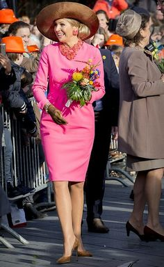 On February 21, 2017, King Willem-Alexander and Queen Maxima of The Netherlands visited the Krimpen aan den IJssel town in the western The Netherlands.