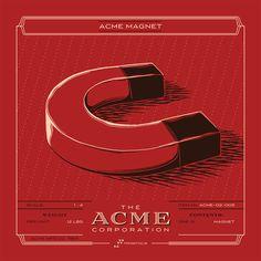 Los inventos ACME ilustrados por Rob Loukotka | OLDSKULL