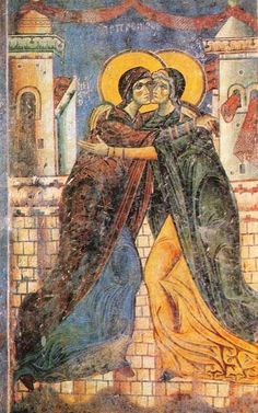 |Happy Solemnity of the Visitation of Mary to Elizabeth #pinterest #mary #may This is a fairly late feast, going back only to the 13th or 14th century.The present date of celebration was set in 1969 in order to follow the Annunciation of the Lord (March 25) and precede the Nativity of John the Baptist (June 24). Like most feasts of Mary, it is closely connected with Jesus and his saving work. The more ........ Awestruck.tv