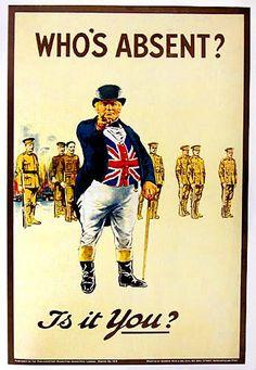 Propaganda de la Primera Guerra Mundial