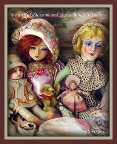 boudoir doll Blossom Anita
