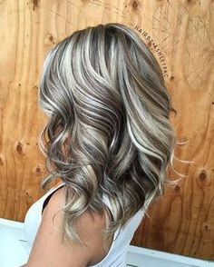 Fall Hair Color Trends & Styles – Home, Fashion & Beauty Gray Hair Highlights, Hair Color Balayage, Haircolor, Blonde Highlights On Dark Hair All Over, Heavy Highlights, Platinum Highlights, Honey Balayage, Peekaboo Highlights, Brown Balayage