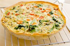 #Receta de Quiche de Verduras #singluten vía Cocina con Poco. Pruébala con la masa quebrada #Genius