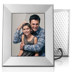 Nixplay Iris 8 Inch WiFi Digital Picture Frame Peach Copper - Share Moments Instantly via App or E-Mail Marco Digital, Iris, Software, Alexa Device, Cloud Photos, Digital Photo Frame, Home Automation, Picture Frames, Clouds