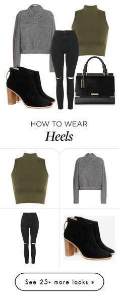 """Untitled #2439"" by fiirework on Polyvore featuring WearAll, Tomas Maier, Topshop and Ted Baker"