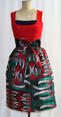African Print Ankara Fabric Wedding Dress Prom Gown Crafts DIY