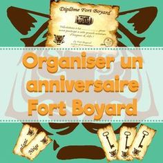 Comment organiser un anniversaire Fort Boyard ? How to organize a Fort Boyard birthday? 11th Birthday, Girl Birthday, Birthday Parties, Diy Fort, Kids And Parenting, Diy For Kids, Activities For Kids, Party Themes, Kid Playroom