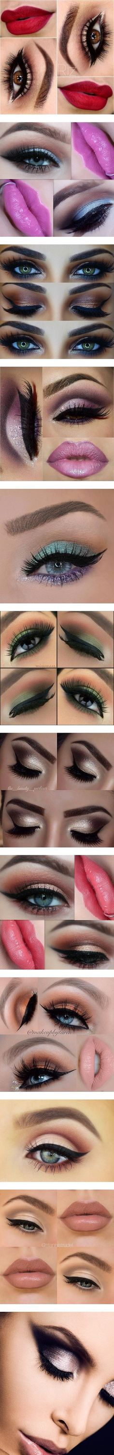 Eye Makeup Favs by emalenf on Polyvore featuring beauty products, makeup, lip makeup, lipstick, eyes, hair and makeup, make-up 2, women, bath & beauty and grey