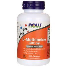 LMethionine, 500 mg 100 Caps AED191.00