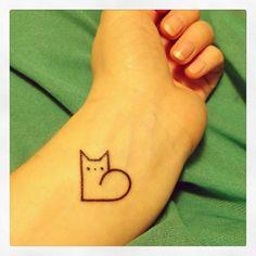 Cat lover tat :)