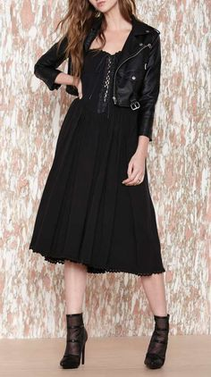 Betsey Johnson Dark Side Dress