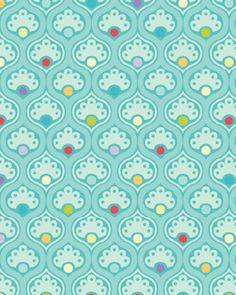 """Candy aqua sea"" from Benartex Inc. Motifs Textiles, Textile Patterns, Graphic Design Pattern, Surface Pattern Design, Pretty Patterns, Beautiful Patterns, Pattern Illustration, Repeating Patterns, Pattern Paper"