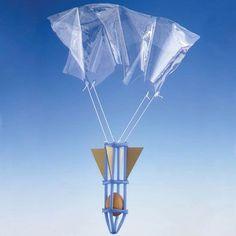 Diseño en STEAM - ¿Puedes hacer un paracaídas? ¿Puedes hacer un paracaídas que evite que un huevo se rompa al caer? Podemos diseñar nuestro dispositivo: dibujarlo, pensar en los materiales que utilizaremos, crearlo y probarlo. ¿Funciona? Si no funciona, ¿qué puede haber fallado?...