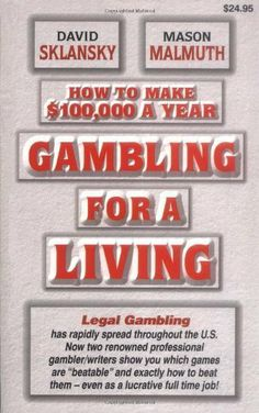 How to Make .... $17.98. 305 pages. Author: David Sklansky. Publisher: Two Plus Two Publishing; 1st edition (July 14, 2010)