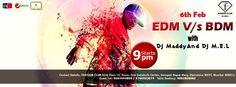 EDM V/s BDM with #Dj Maddy And Dj M.E.L!! @ F #Bar Mumbai Visit: http://fbarmumbai.com/