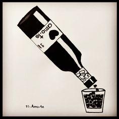Vinhos amo.te • Wine for Lovers •  Store OnLine www.amote.pt •  Message in a Bottle Collection •  Escreva a sua mensagem num dos produtos amo.te •