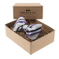 Cowes in Purple, Navy & Pale Blue
