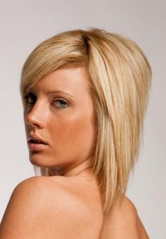 Layered Inverted Bob: An inverted bob is anything but basic when layers are added into the mix. For a modern look, add some stacked layers in the back. Blow dry the style with a round brush, using extra attention at the crown to create volume there. A small amount of smoothing serum can keep this style looking polished.