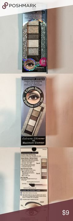 Physicians Formula shimmer strip eyeshadow- Smoke Brand new, unused. Extremely shimmer. Long-wearing, blendable formula for up to 24 hours. Hypoallergenic, Fragrance free, paranormal free, Gluten free, Dermatologist approved. Safe for sensitive eyes. Price is firm unless bundled with other non-beauty item. Also available in Nude shade. See last photo. Physicians Formula Makeup Eyeshadow
