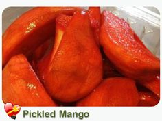 Try some Pickled Mango Hawaiian local style. Get more island favorites here. Ono Kine Recipes, Pickle Mango Recipe, Pickled Mango, Mango Recipes, Island Food, Food Hacks, The Best, Cooking Recipes, Yummy Food