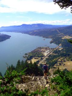 Wind Mountain Hike - 2.5 miles round trip.  moderate w/ 1100 ft elevation gain.  Short but a good work out and nice views!